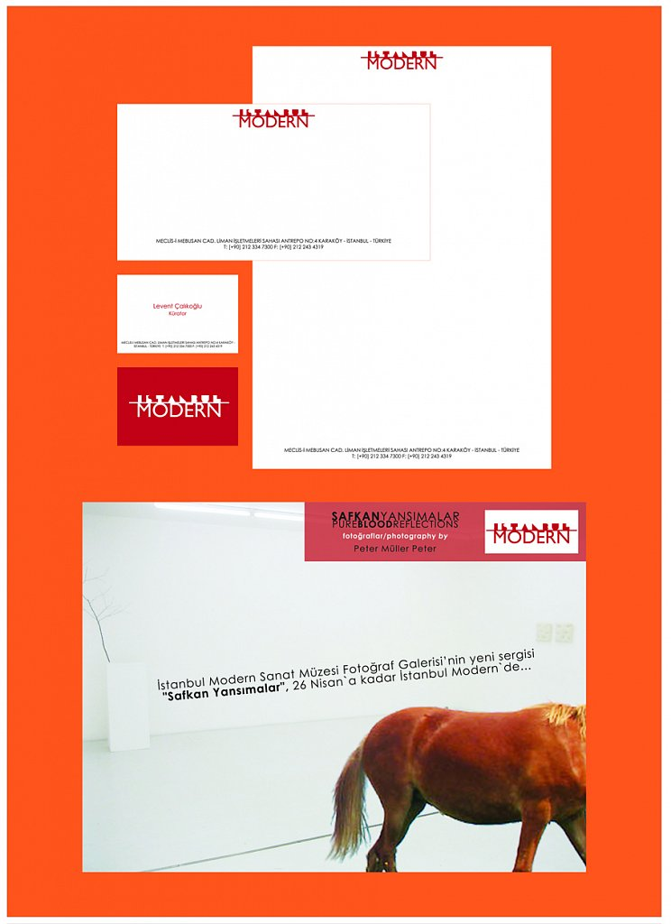 İstanbul Modern Identıty redesign (Academic Project)