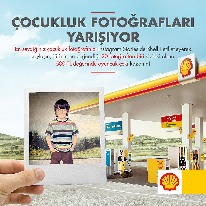 Shell 23 Nisan Campaign